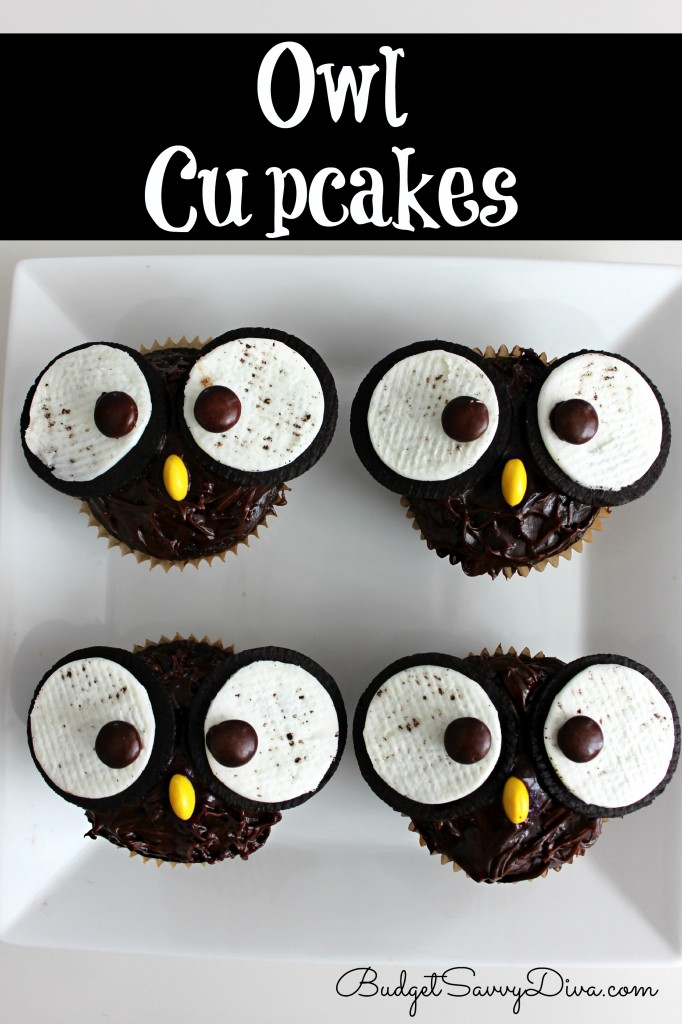 This Owl Cupcakes Recipe is sooooo cute!!!  You must check it out  Simple and easy with oreos and other great ingredients!!  You must heck out the blog