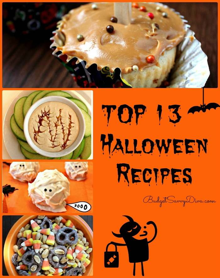 Do you love YUMMMMY Recipes? Well this roundup is for you. Every Halloween recipe in this roundup has been made and tested!