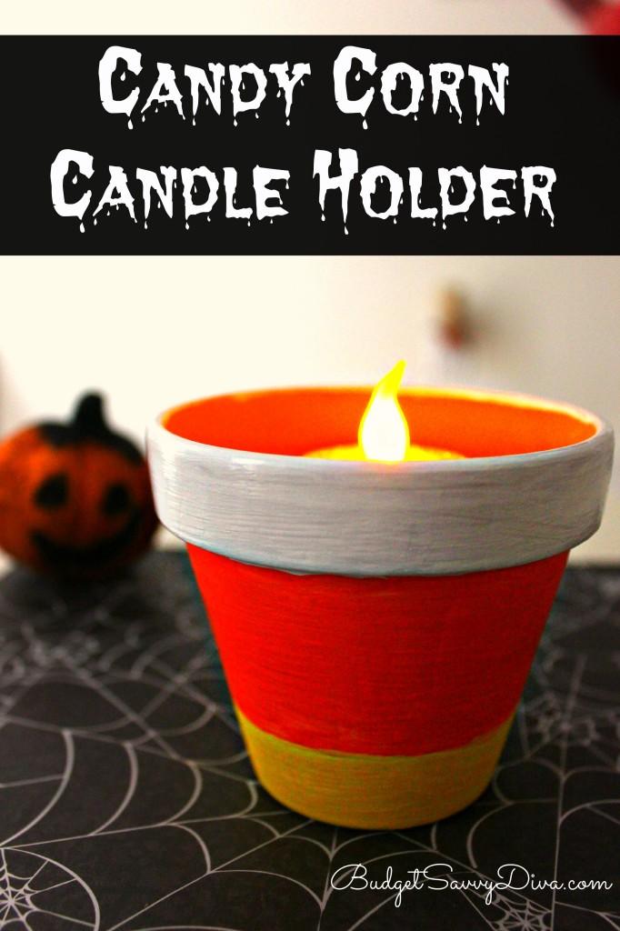 CandyCornCandleHolder