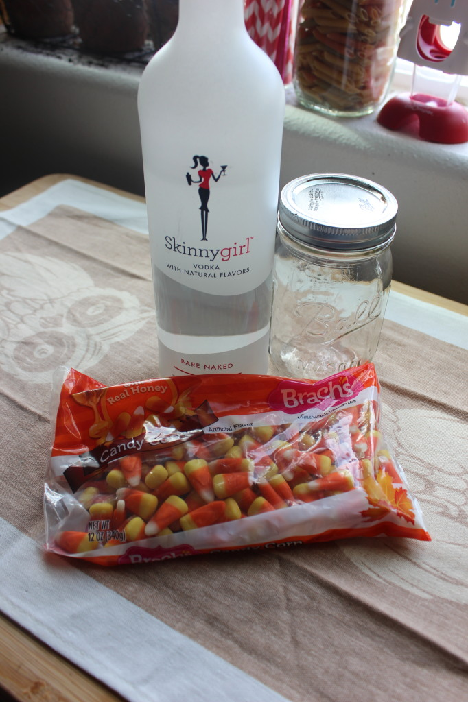 Skinny Candy Corn Vodka Recipe