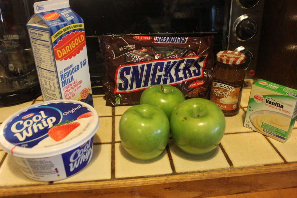 Snickers Caramel Apple Salad Recipe