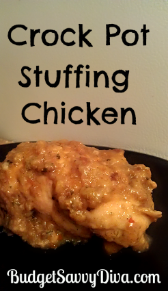 Crock Pot Stuffing Chicken Recipe