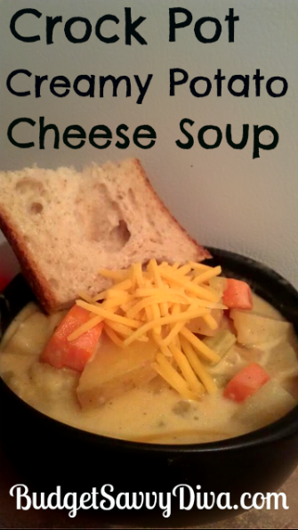 Crock Pot Creamy Potato Cheese Soup Recipe