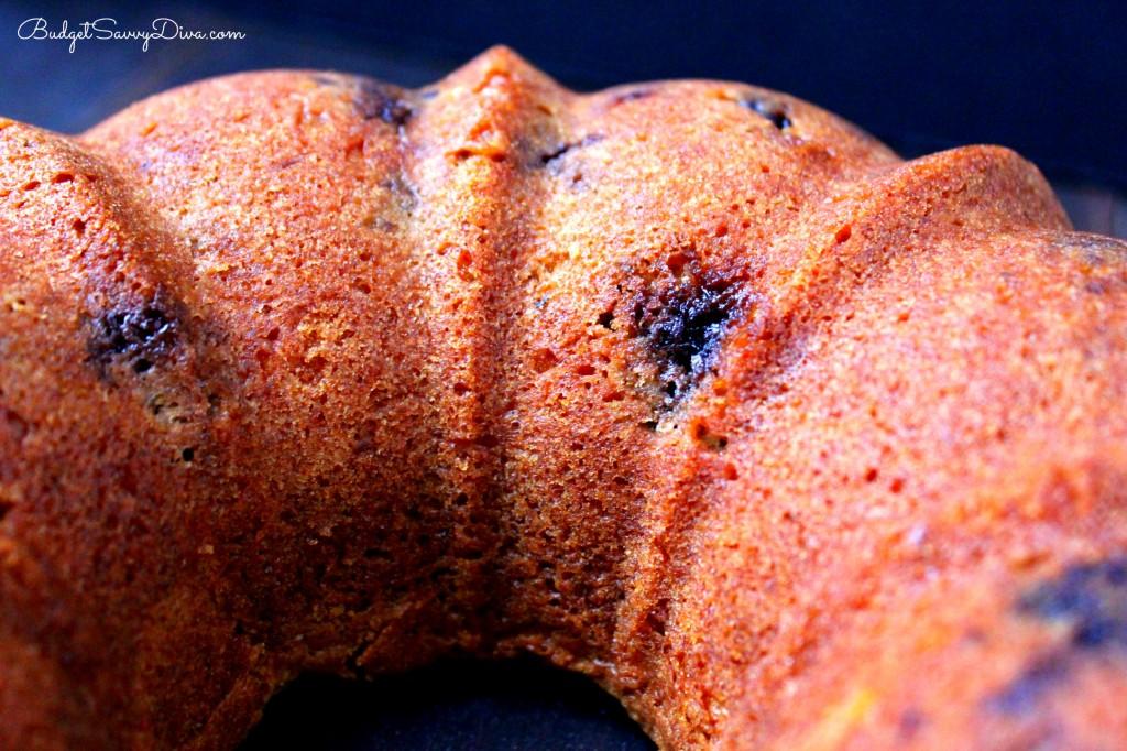 Blueberry Cream Cheese Pound Cake Recipe