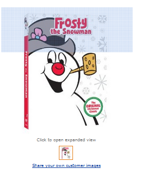 Frosty the Snowman DVD ONLY $5 | Budget Savvy Diva