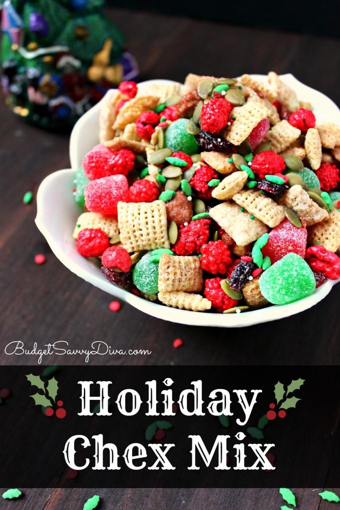 Holiday Chex Mix Recipe Budget Savvy Diva
