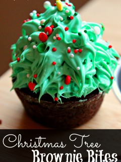 Christmastreebrownie
