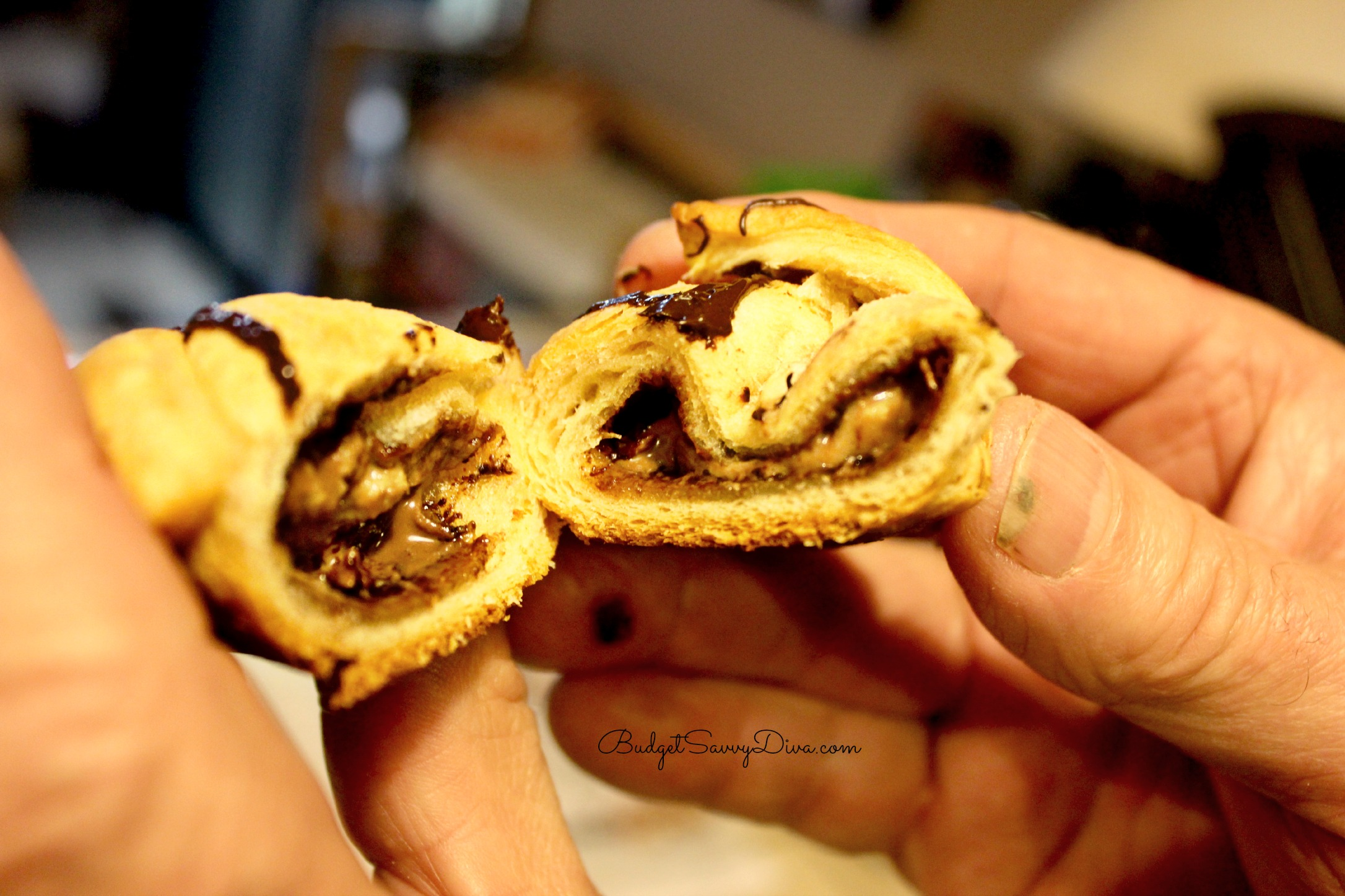Chocolate Peanut Butter Croissant Recipe