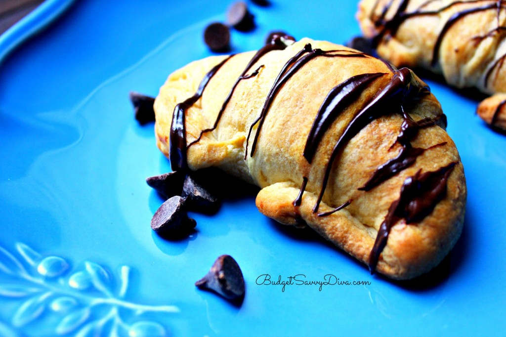 Chocolate Peanut Butter Croissant Recipe