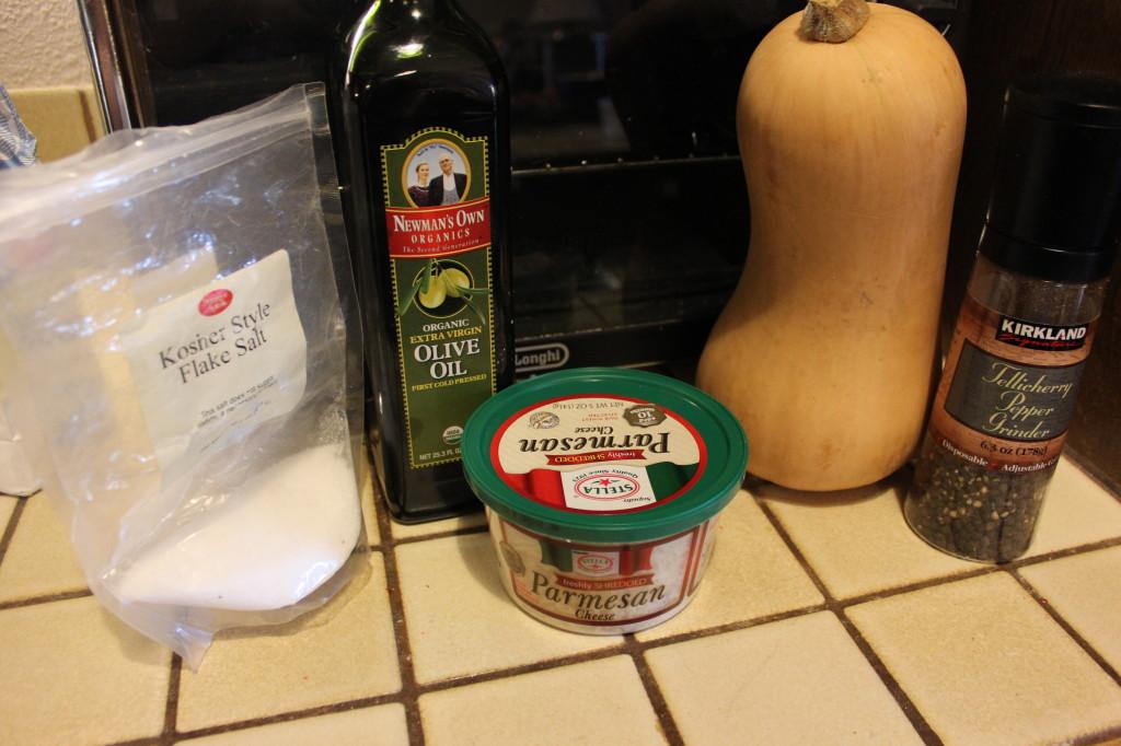 Parmesan - Roasted Butternut Squash Recipe