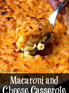 Macaroni and Cheese Casserole2