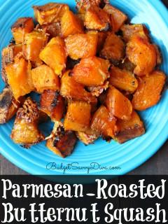 Parmesan-Roasted Butternut Squash Recipe