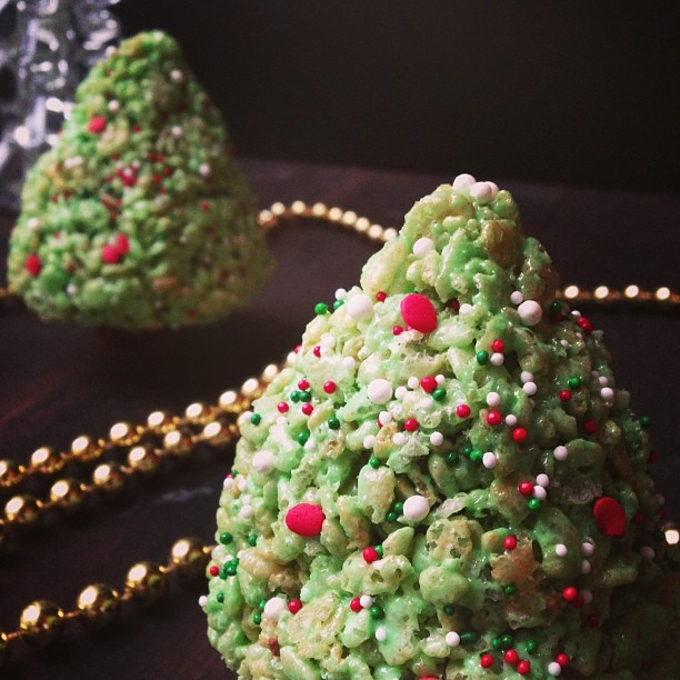 Rice Krispies Christmas Trees Recipe