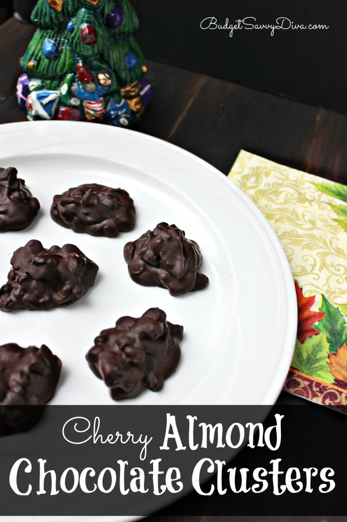 Cherry Almond Chocolate Clusters Recipe