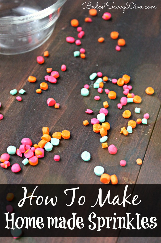 How To Make Homemade Sprinkles Recipe