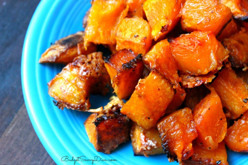 Parmesan - Roasted Butternut Squash Recipe