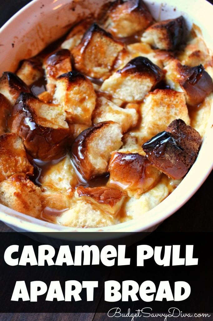Caramel Pull Apart Bread Recipe