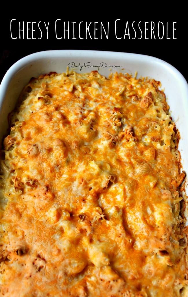 Chicken casserole recipe cheesy chicken casserole recipe forumfinder Choice Image