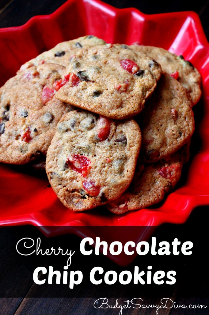 Cherry Chocolate Chip Cookies Recipe