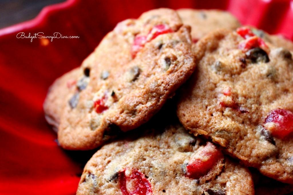 Cherry Chocolate Chip Cookies Recipe