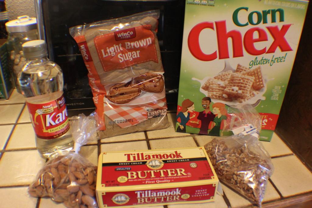 Caramel Snack Mix Recipe
