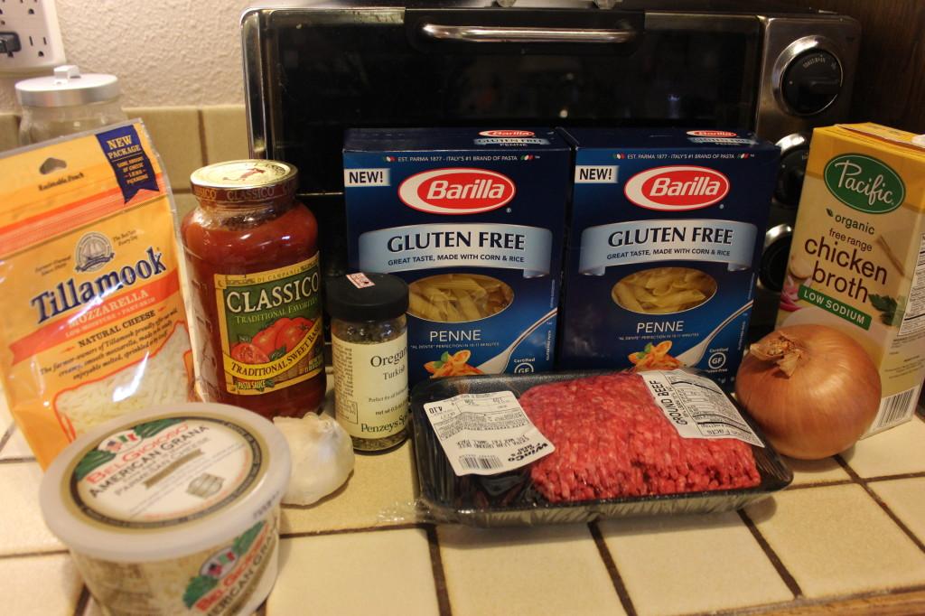 Cheesy Baked Ziti Recipe, gluten free ziti