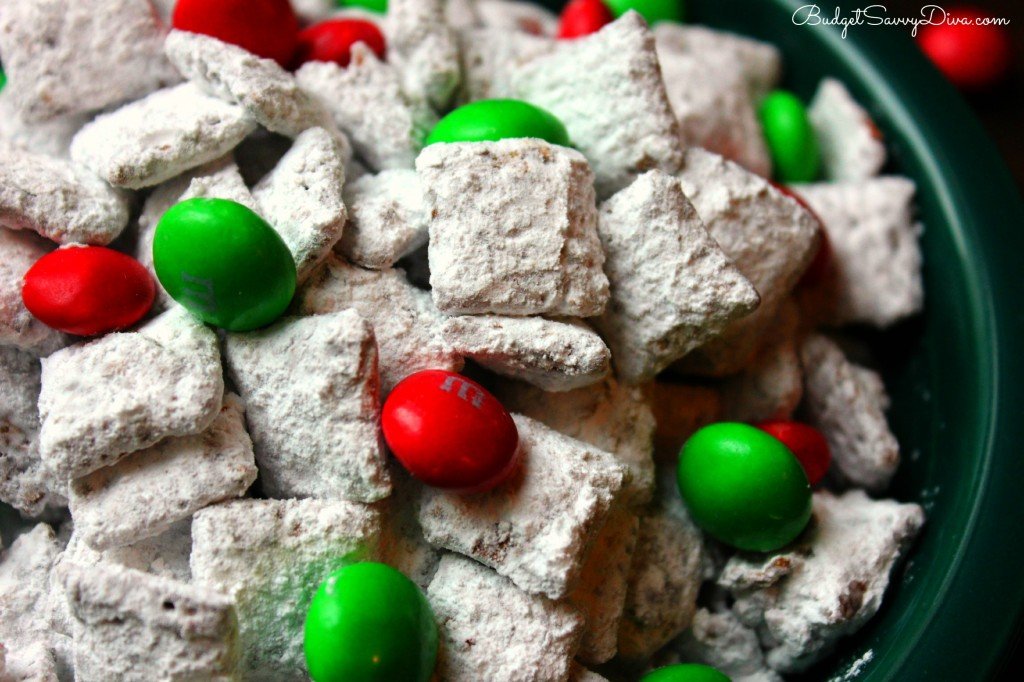 Nutella Reindeer Chow Recipe