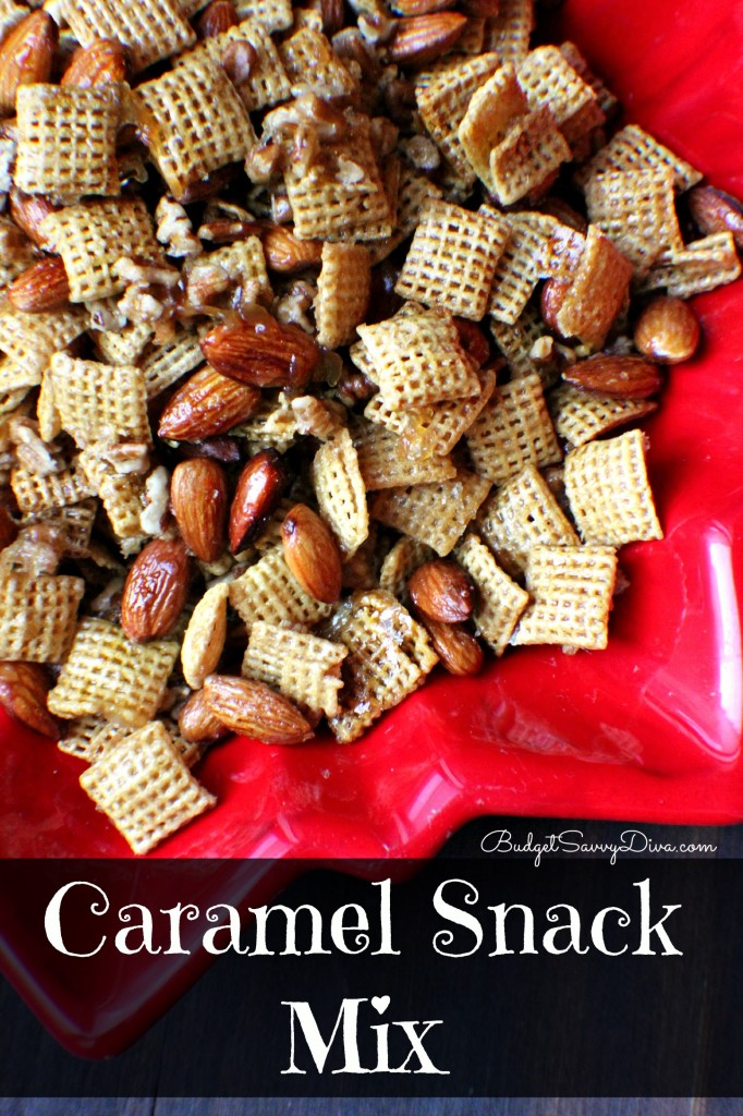Caramel Snack Mix Recipe