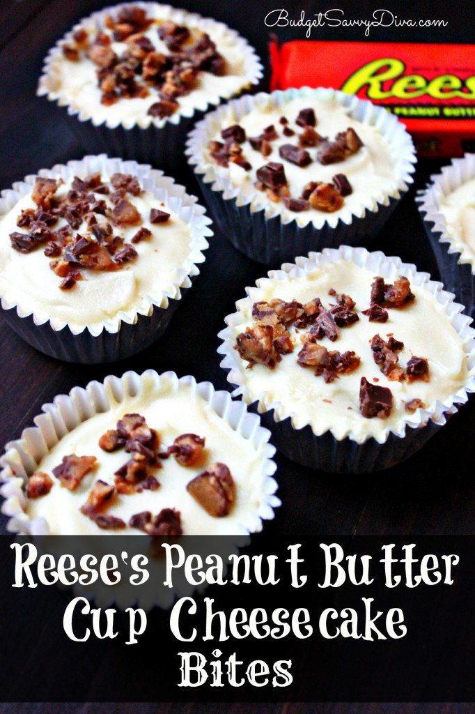 Reese's Peanut Butter Cup Cheesecake Bites Recipe