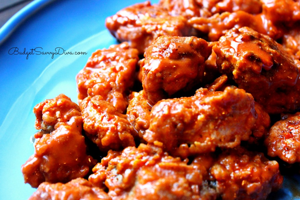 Boneless Buffalo Chicken Bites Recipe