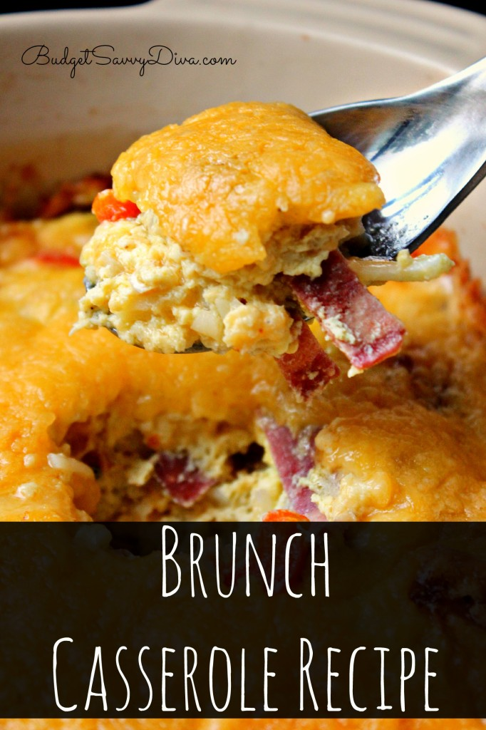 Cheesy Brunch Casserole Recipe