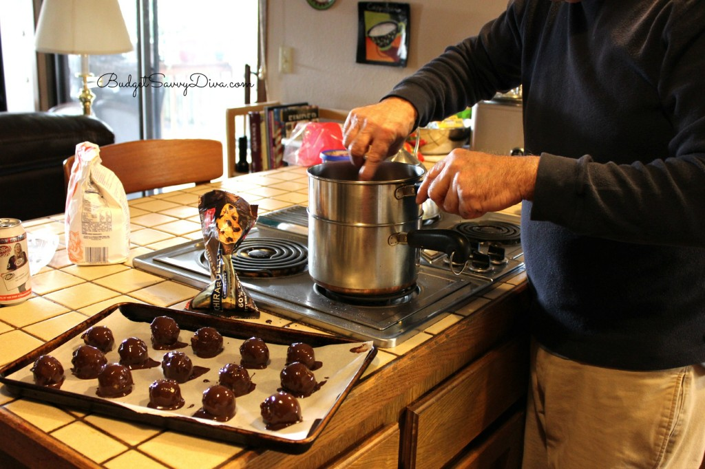 Chocolate Covered Cookie Dough Balls Recipe