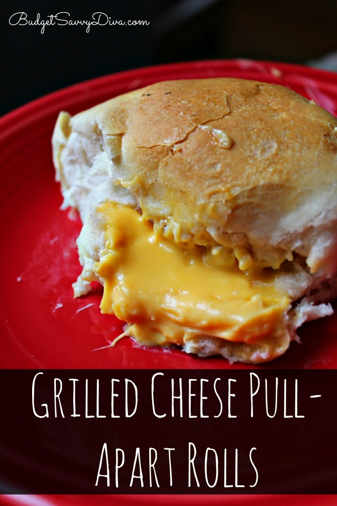 Grilled Cheese Pull-Apart Rolls Recipe