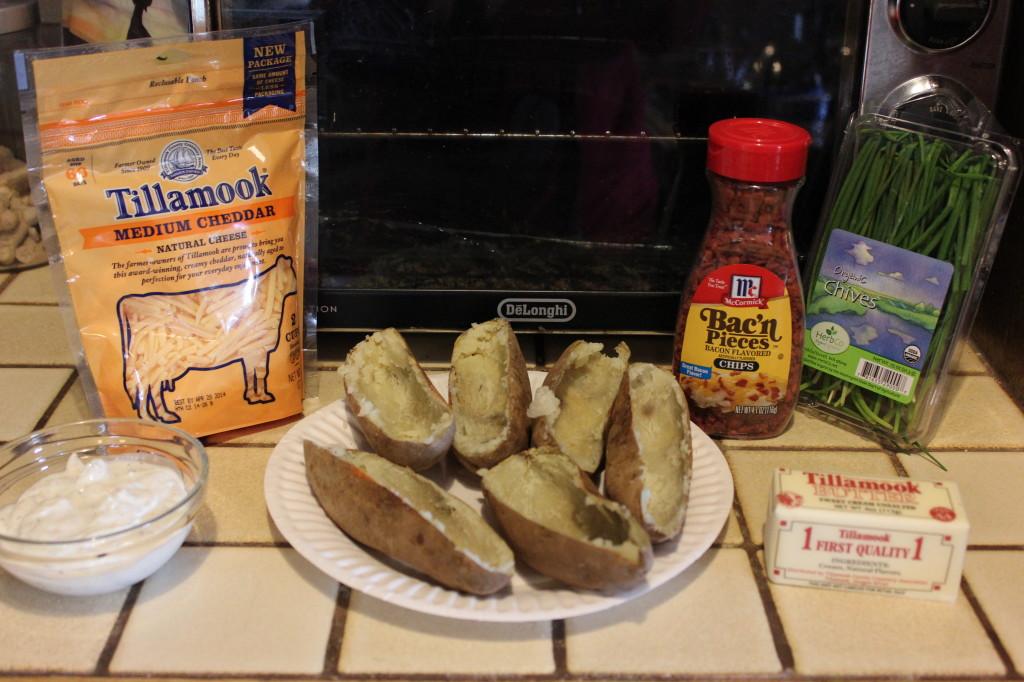 T.G.I. Friday's Potato Skins Recipe