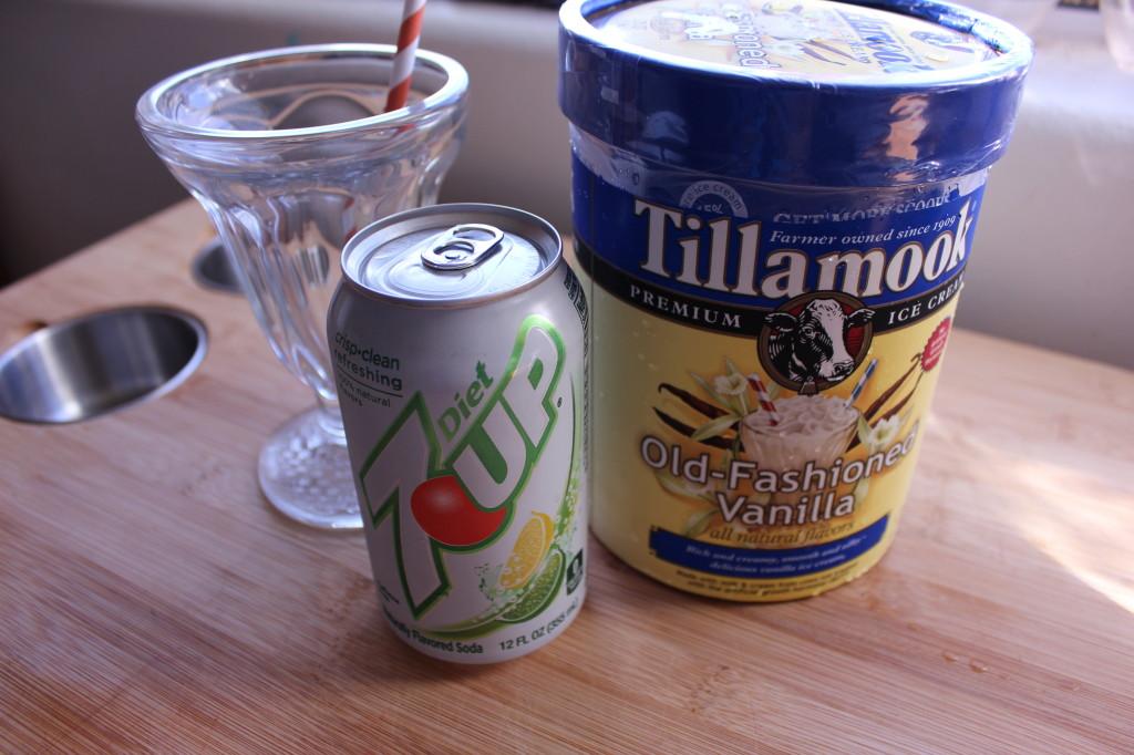 Lemon Soda Float Recipe
