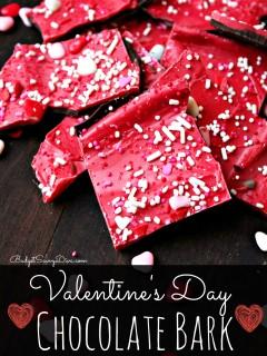 Valentine's Day Chocolate Bark 2