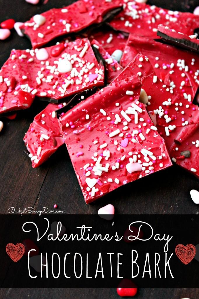Valentine's Day Chocolate Bark Recipe