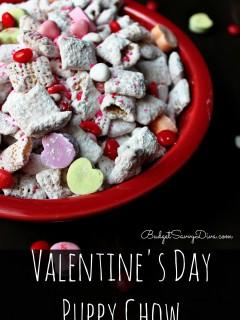 Valentine's Day Puppy Chow