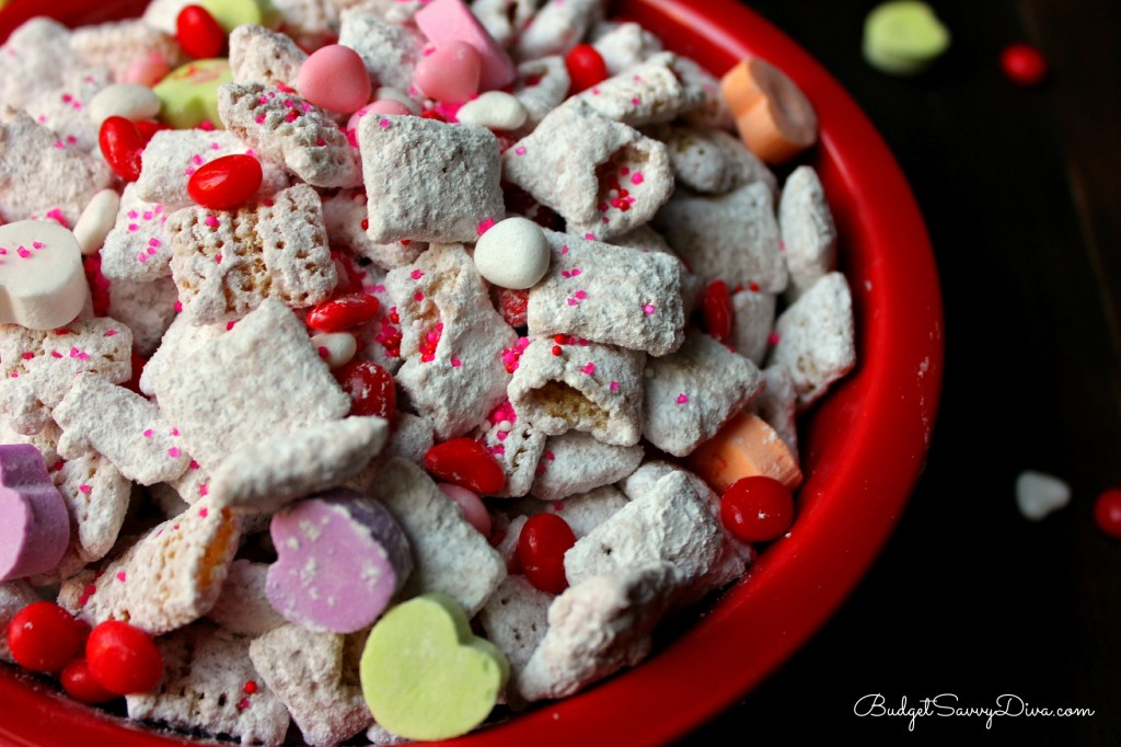 Valentine's Day Puppy Chow Recipe