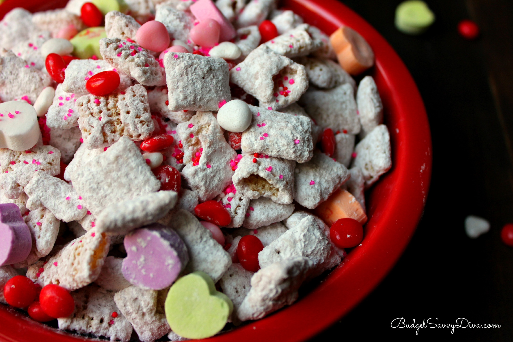 Valentineu0027s Day Puppy Chow Recipe