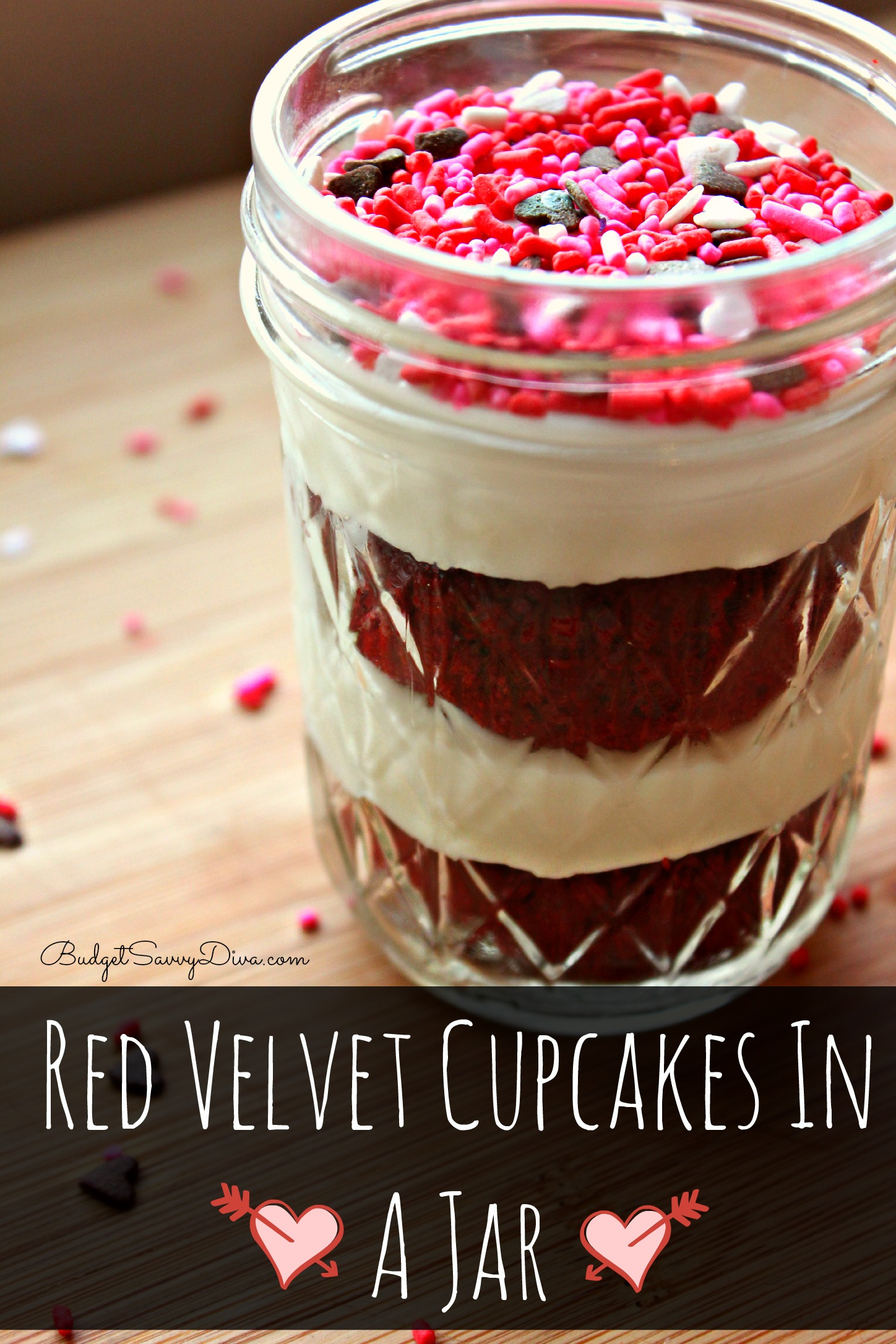 Red Velvet Cupcakes In A Jar Recipe