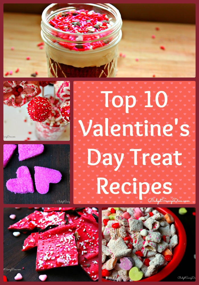 Top 10 valentine 39 s day treat recipes roundup for Best valentines day meals