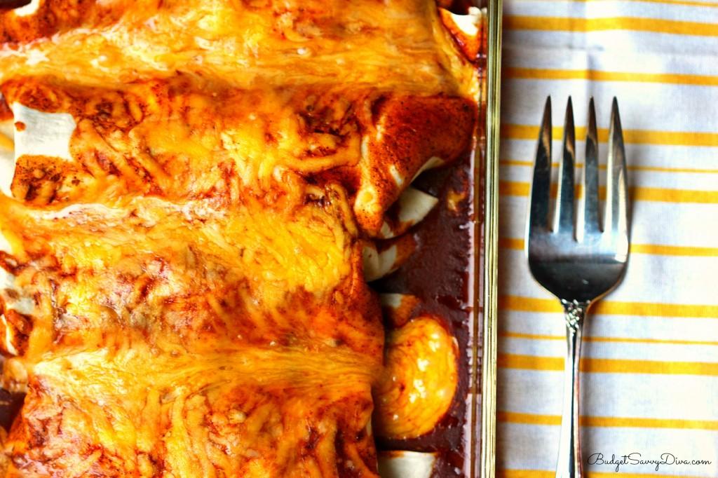 Easy Baked Chicken Enchiladas Recipe