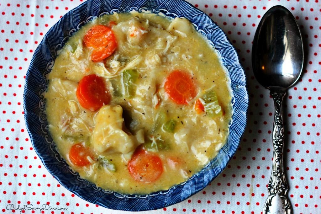 Chicken Dumplings Soup