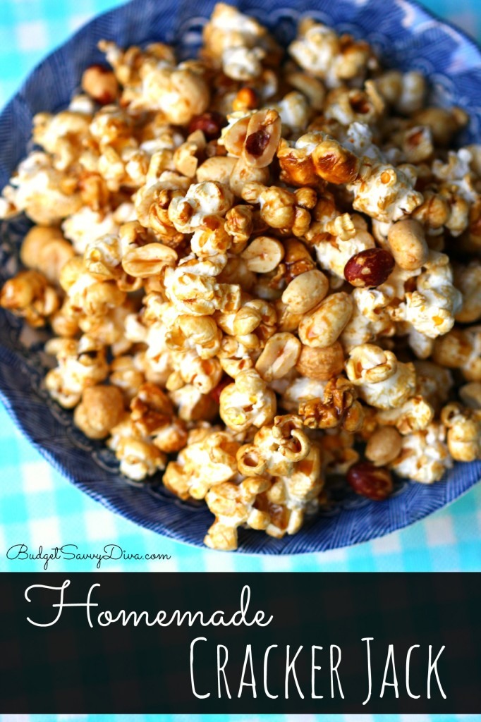 Homemade Cracker Jack - Marie Recipe