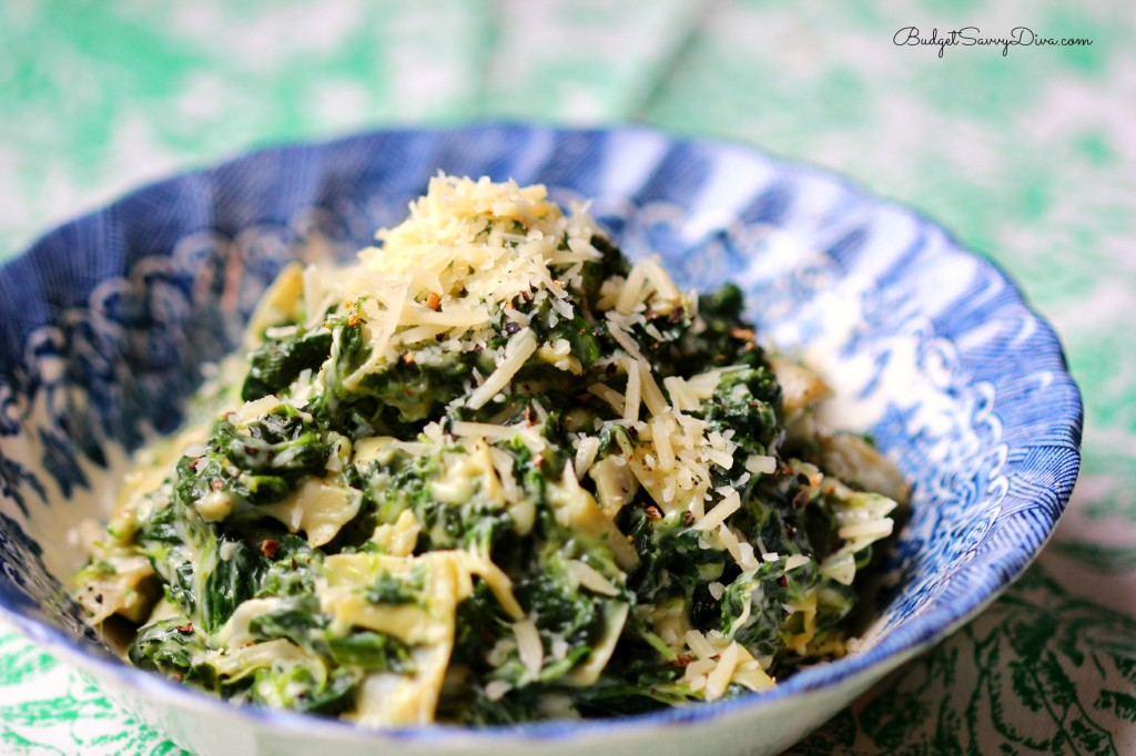 Spinach and Artichoke Dip Recipe ( Recipes from Marie)