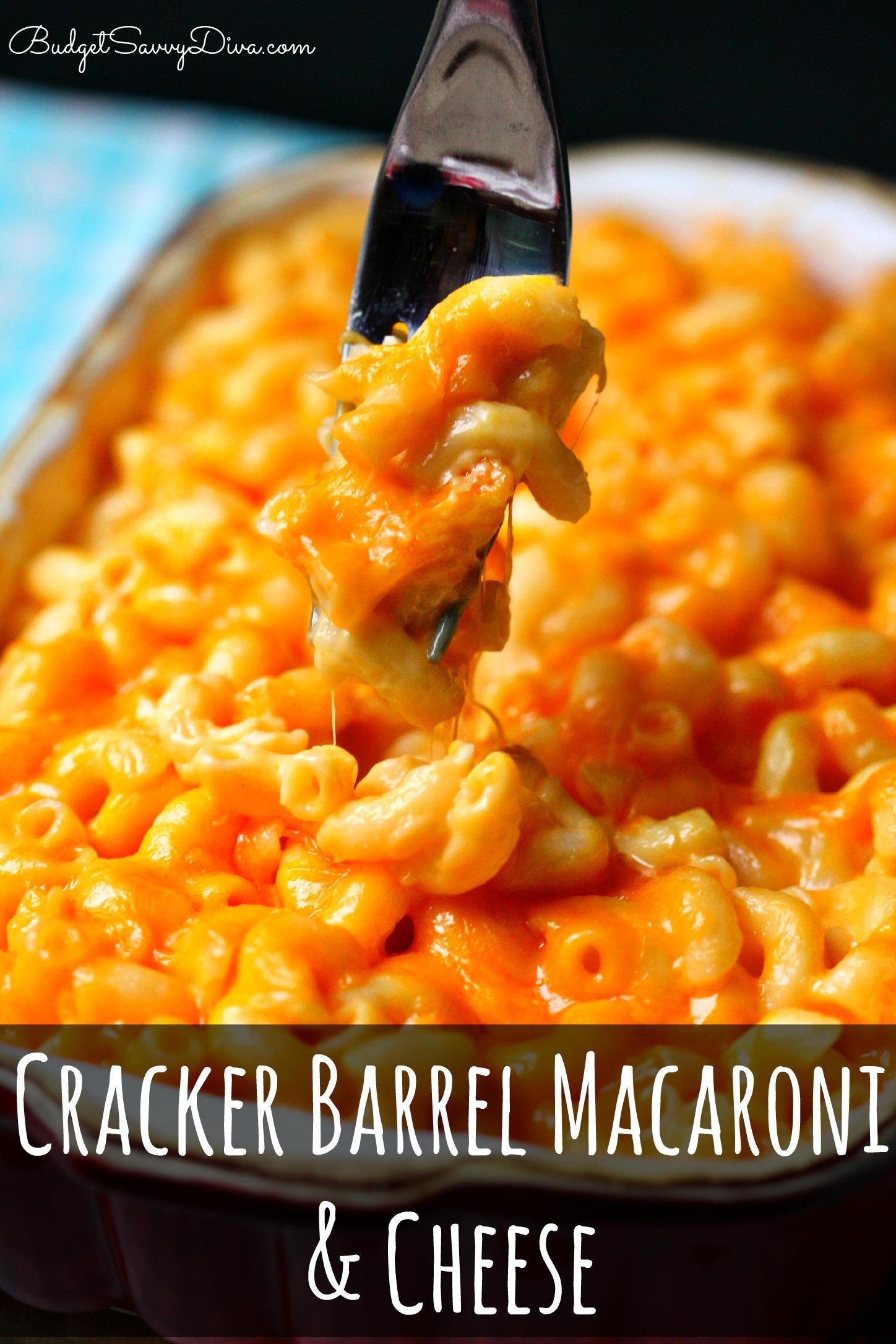 Cracker Barrel Recipes To Make At Home Roundup Budget