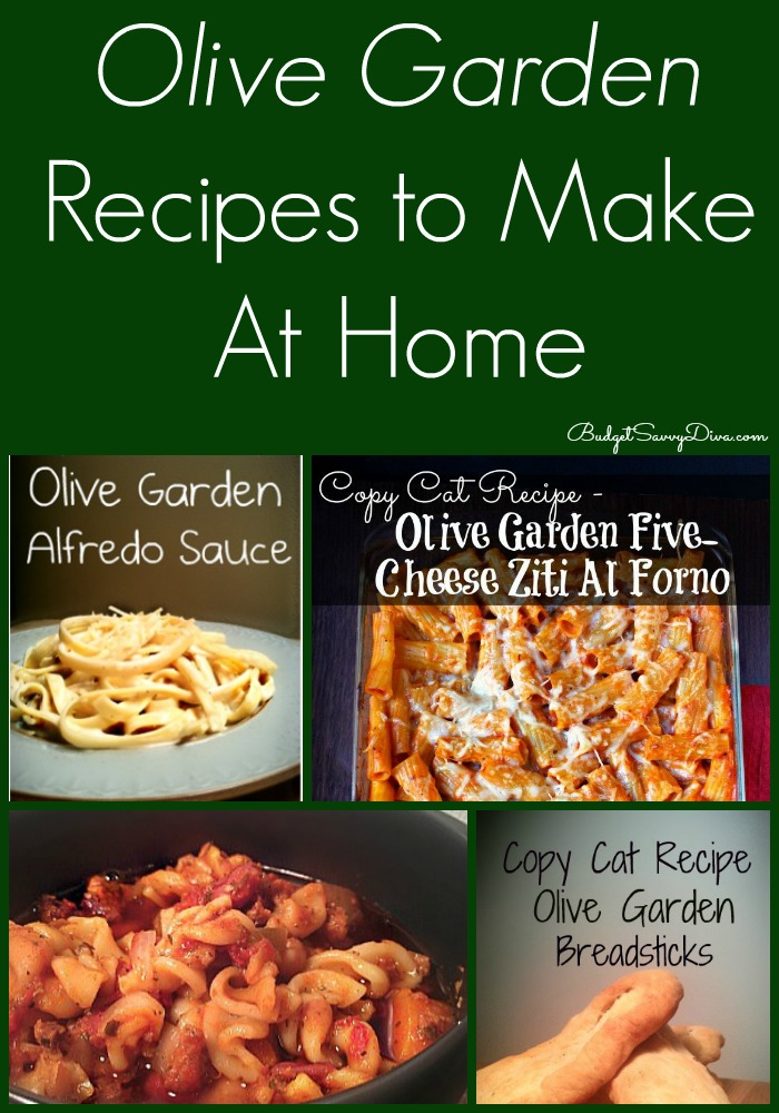 Olive Garden Recipes To Make At Home | Budget Savvy Diva