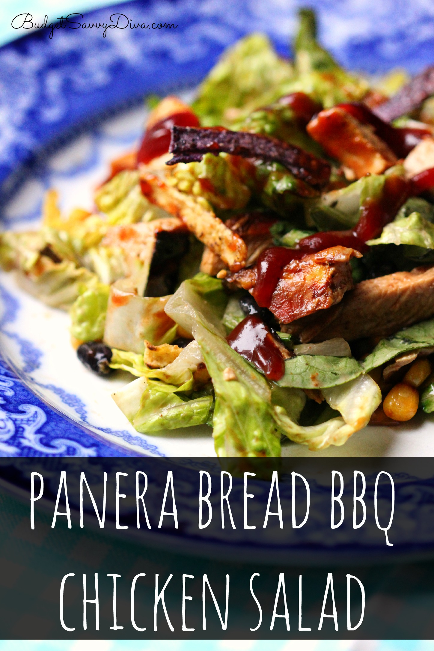 Panera Bread Bbq Chicken Salad Recipe Budget Savvy Diva