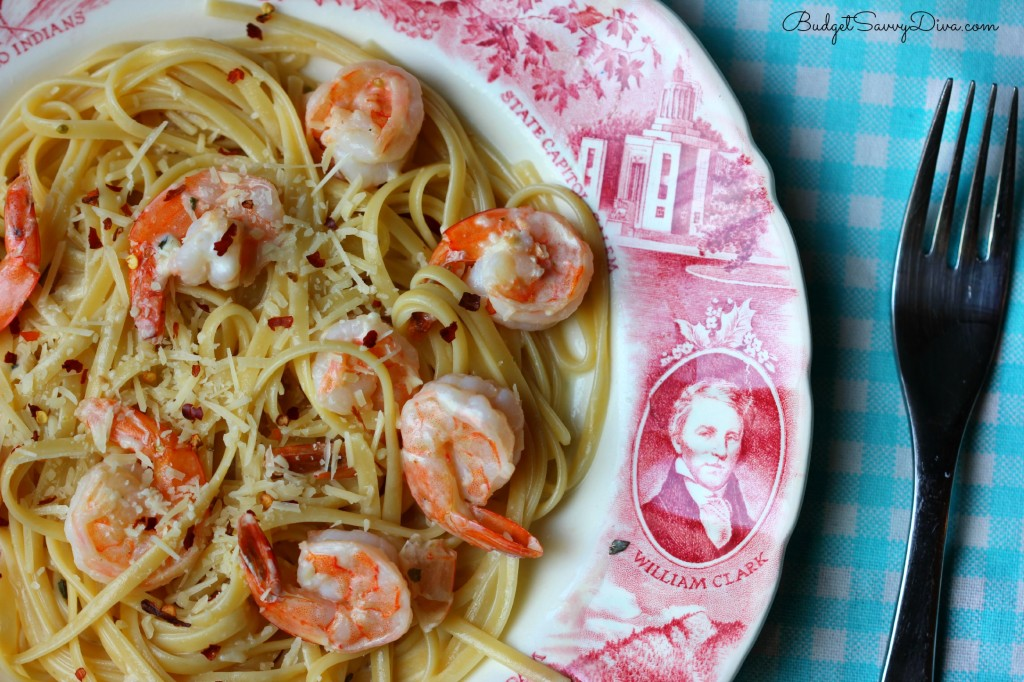 Copycat Red Lobster Shrimp Pasta